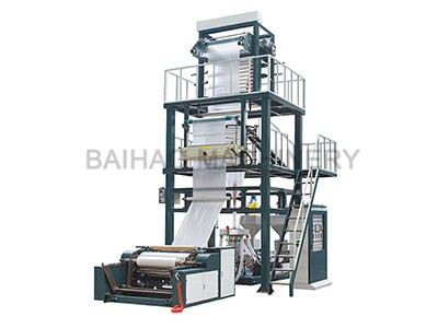 HDPE ABA FILM BLOWING MACHINE