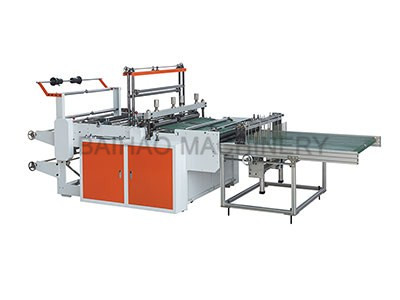 DOUBLE LINES SIDE SEALING BAG MAKING MACHINE