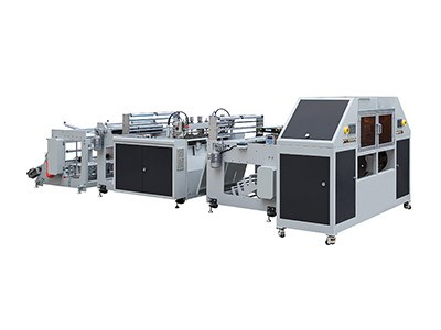 BL1020S2-ARC Double lines roll bag making machine(with paper core)